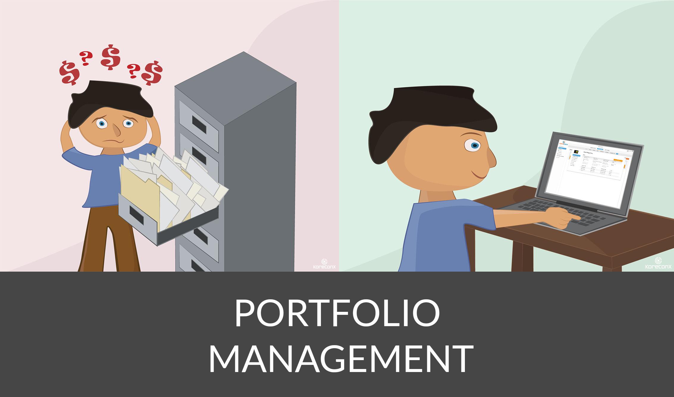 KoreConX Portfolio Management
