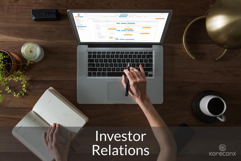 KoreConX Investor Relations