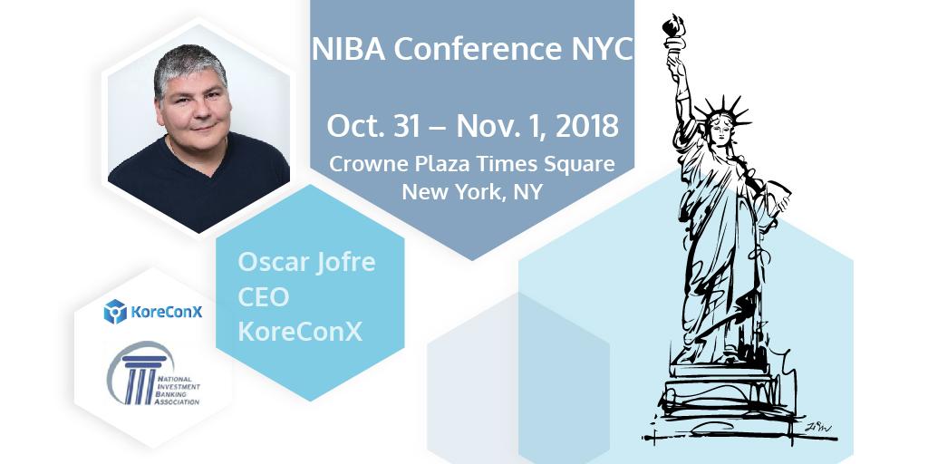 KoreConX NIBA Conference NYC