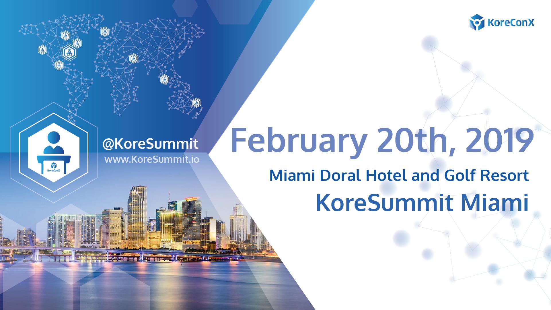 KoreConX KoreSummit Miami