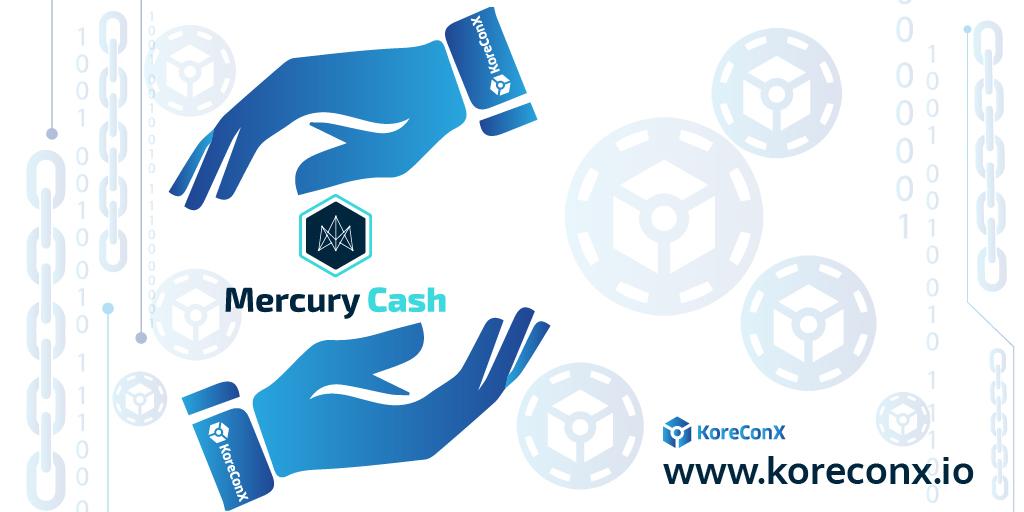 KoreConX Mercury Cash
