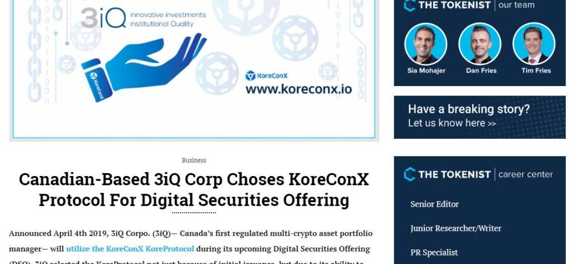 KoreConX 3IQ