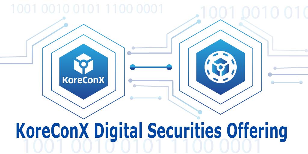 KoreConX Digital Securities Offering