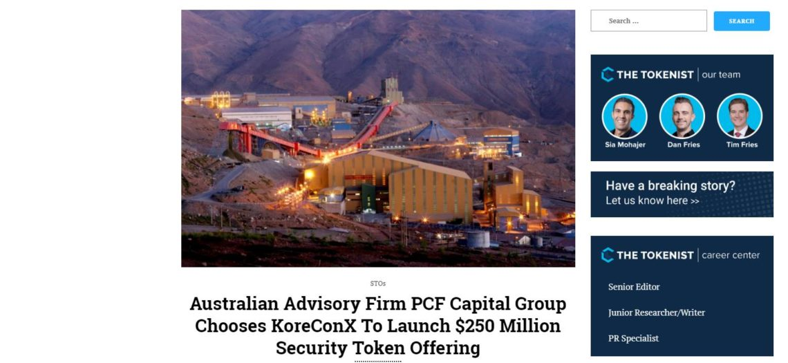 KoreConX PCF Capital