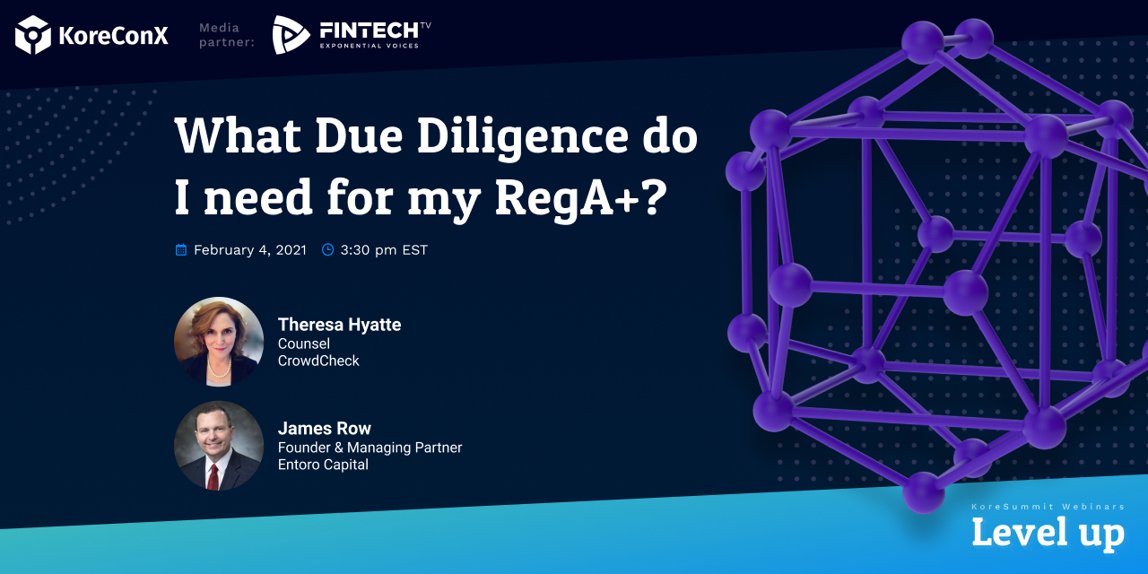 What Due Diligence do I need for my RegA+