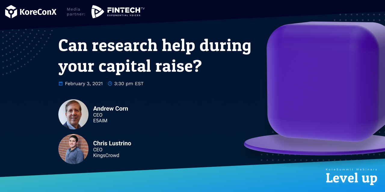 Can Research Help During Your Capital Raise