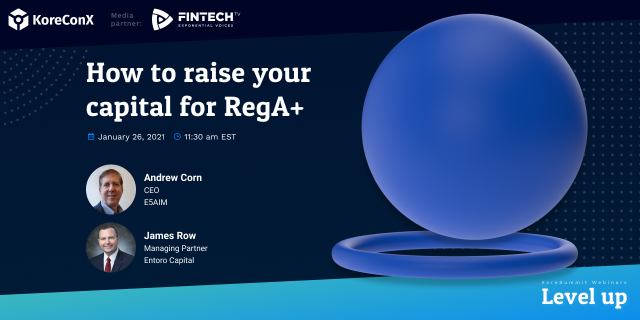 How to Raise Your Capital for RegA+