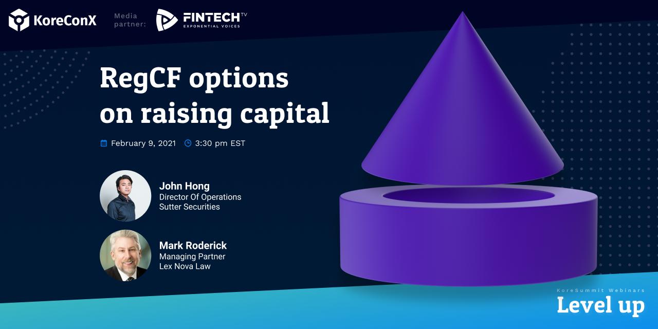 RegCF Options on Raising Capital