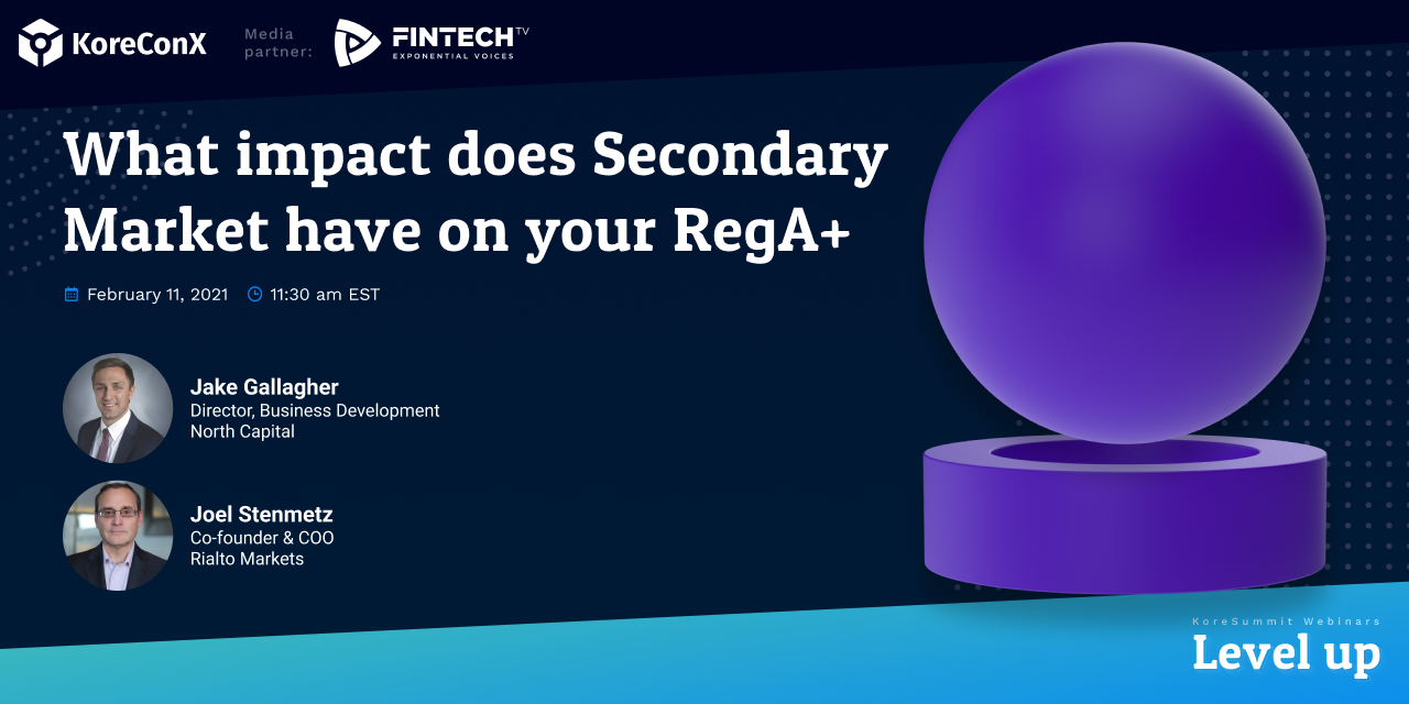 What Impact Does Secondary Market Have on Your RegA+