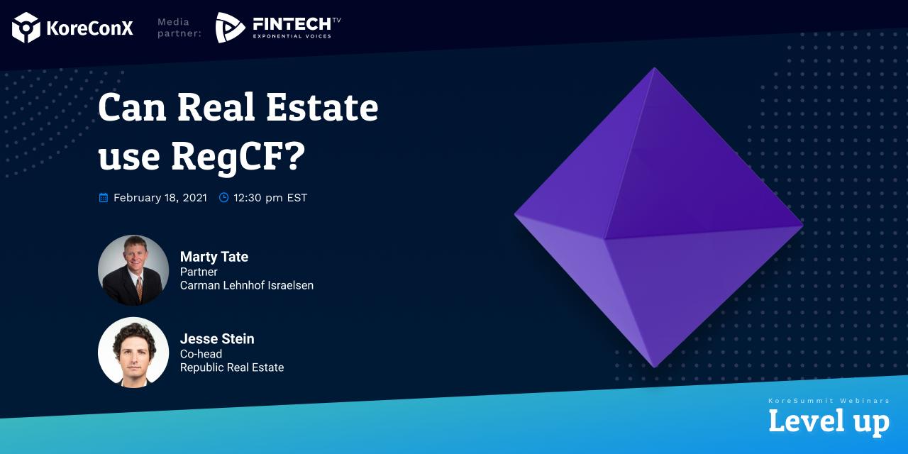 Can Real Estate Use RegCF