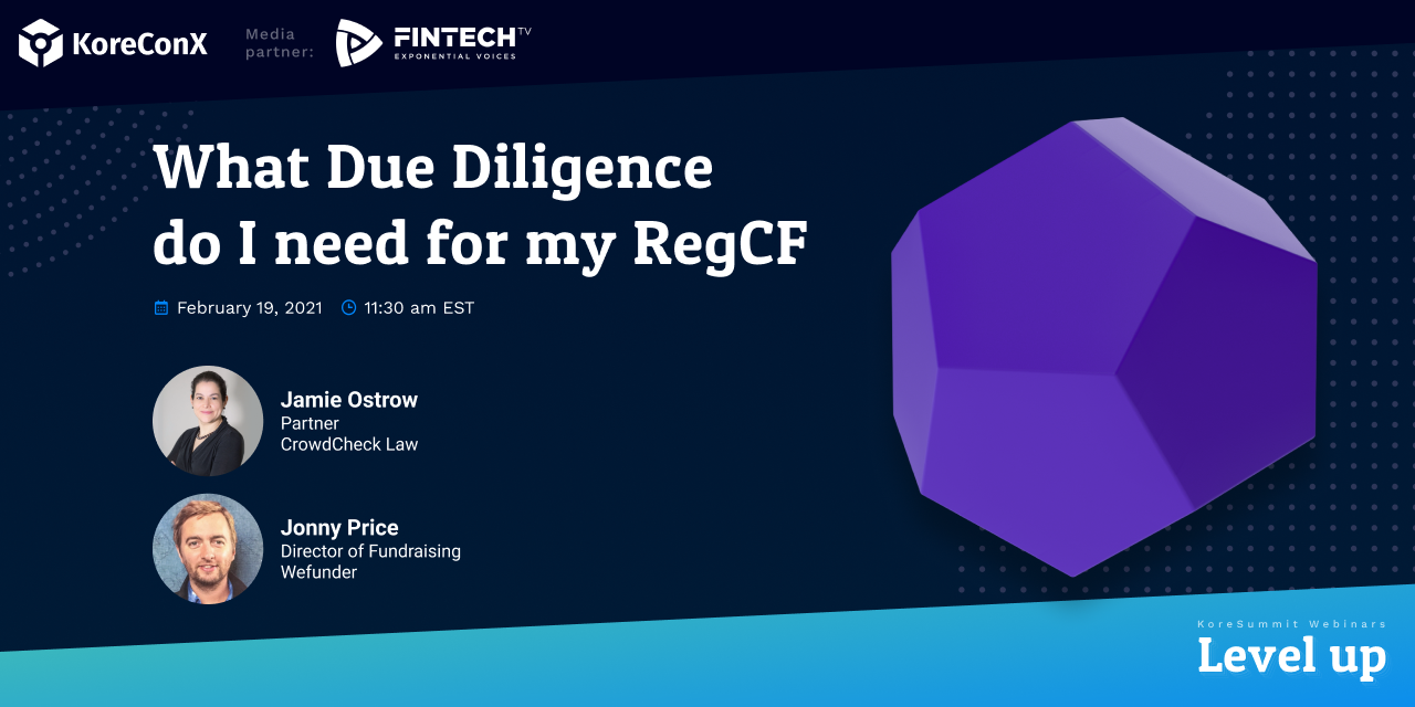What Due Diligence do I need for my RegCF