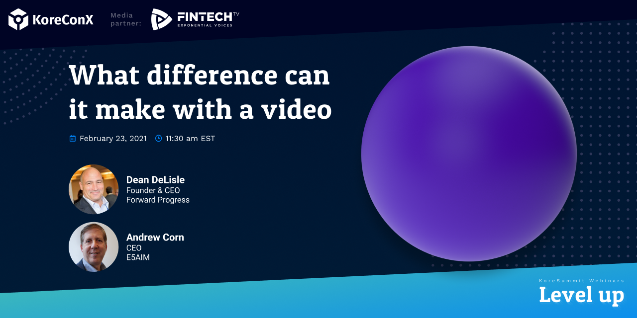 What difference can it make with a video