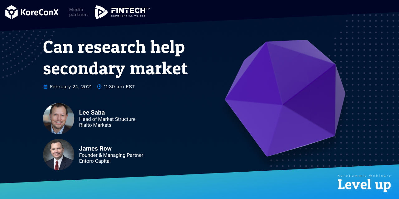 Can Research Help Secondary Market