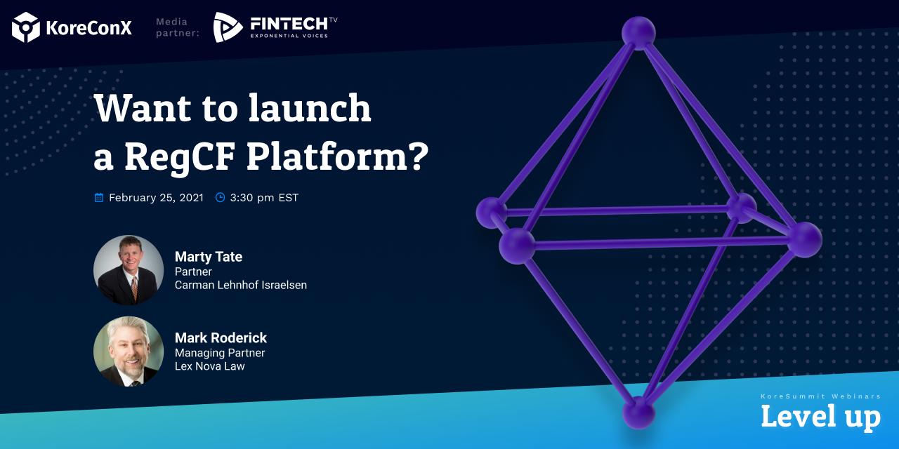Want to Launch a RegCF Platform?