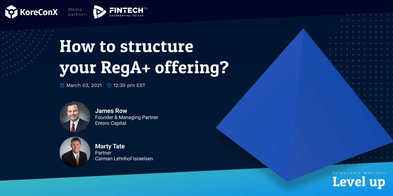 How to structure your RegA+ offering