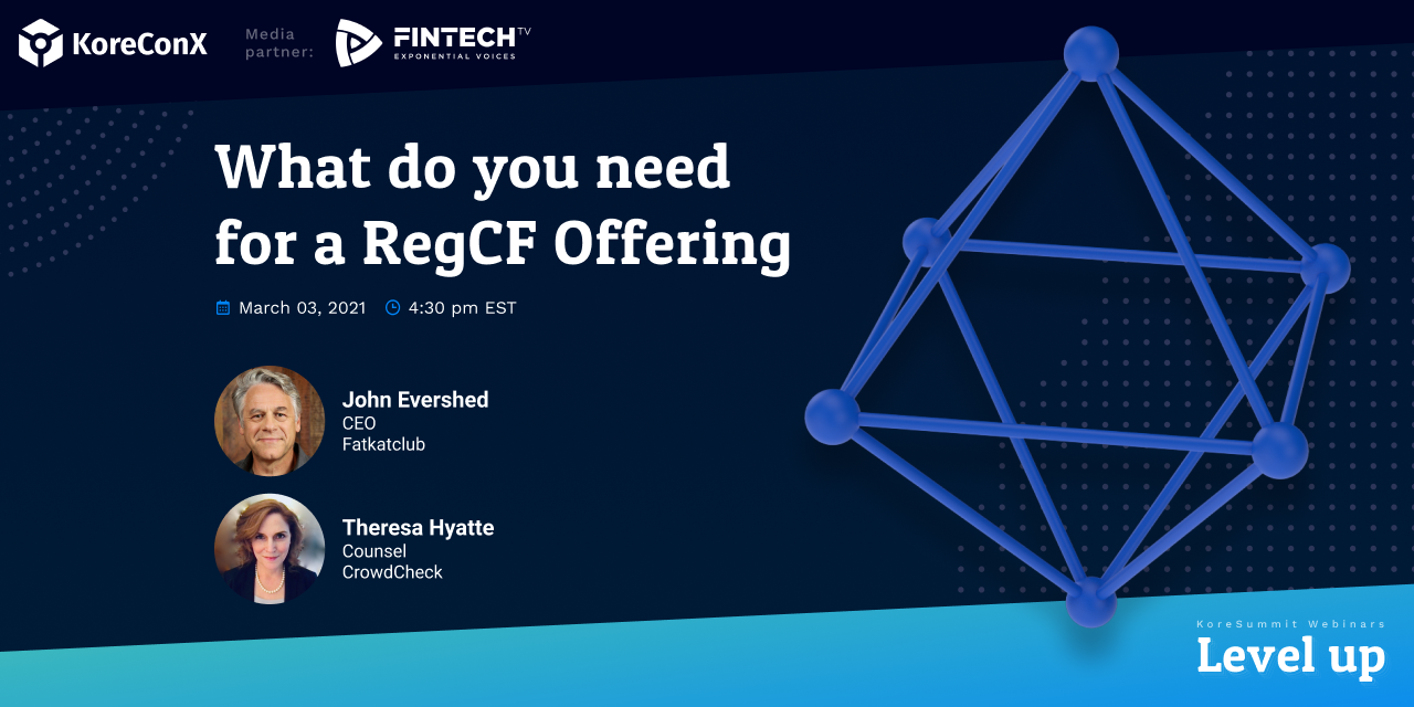 What do you need for a RegCF Offering